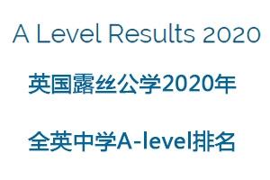 英国露丝公学排名(2020年A-level成绩)